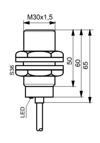 Czujniki indukcyjne TIA3015Z