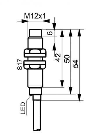Czujniki indukcyjne TID1202RN