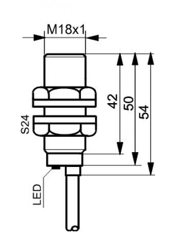 Czujniki indukcyjne TID1808ZN