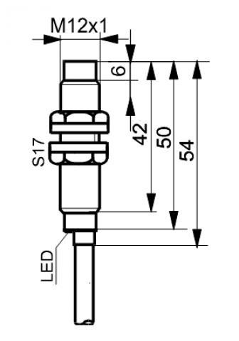 Czujniki indukcyjne TIDC1204Z